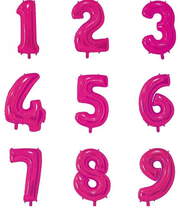 Цифры 65 см