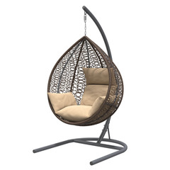 Подвесное кресло BAROLO BROWN