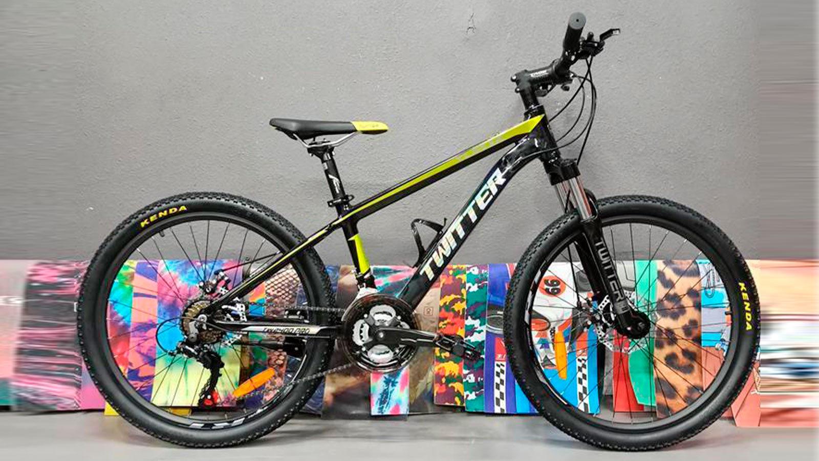горный велосипед для подростков TWITTER TW2400pro 24