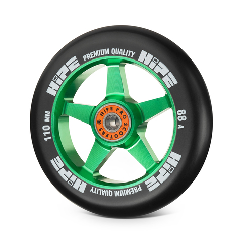 Колесо HIPE H09 110мм green/black