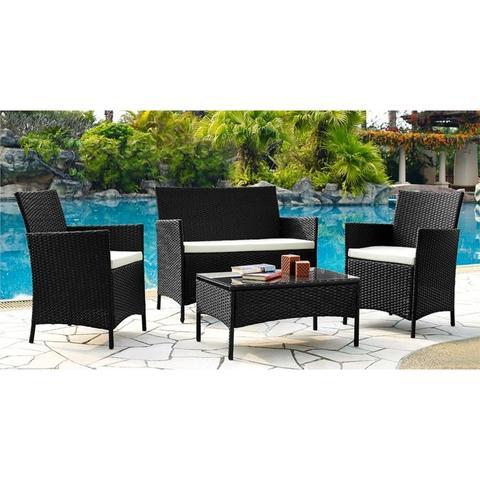 Комплект кофейный (стол, 2 кресла и диван), 210013A