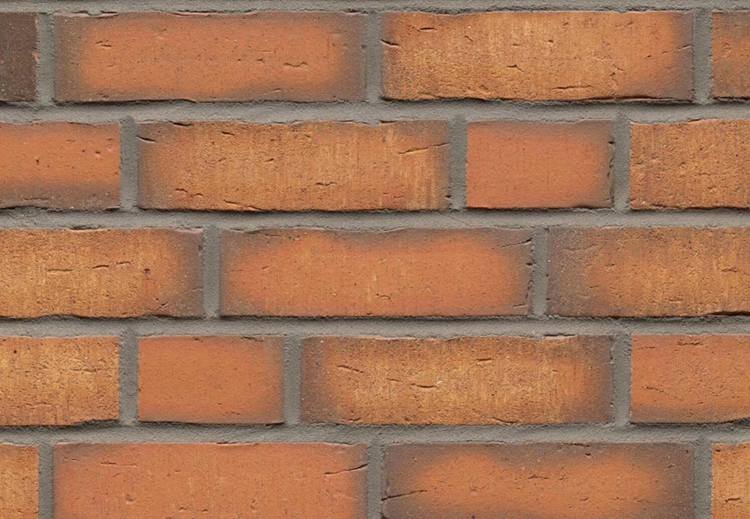 Feldhaus Klinker - R758NF14, Vascu Terracotta, 240x14x71 - Клинкерная плитка для фасада и внутренней отделки