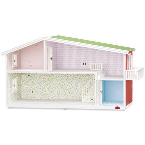 Кукольный домик с освещением Смоланд (адаптер в комплекте), Lundby Швеция