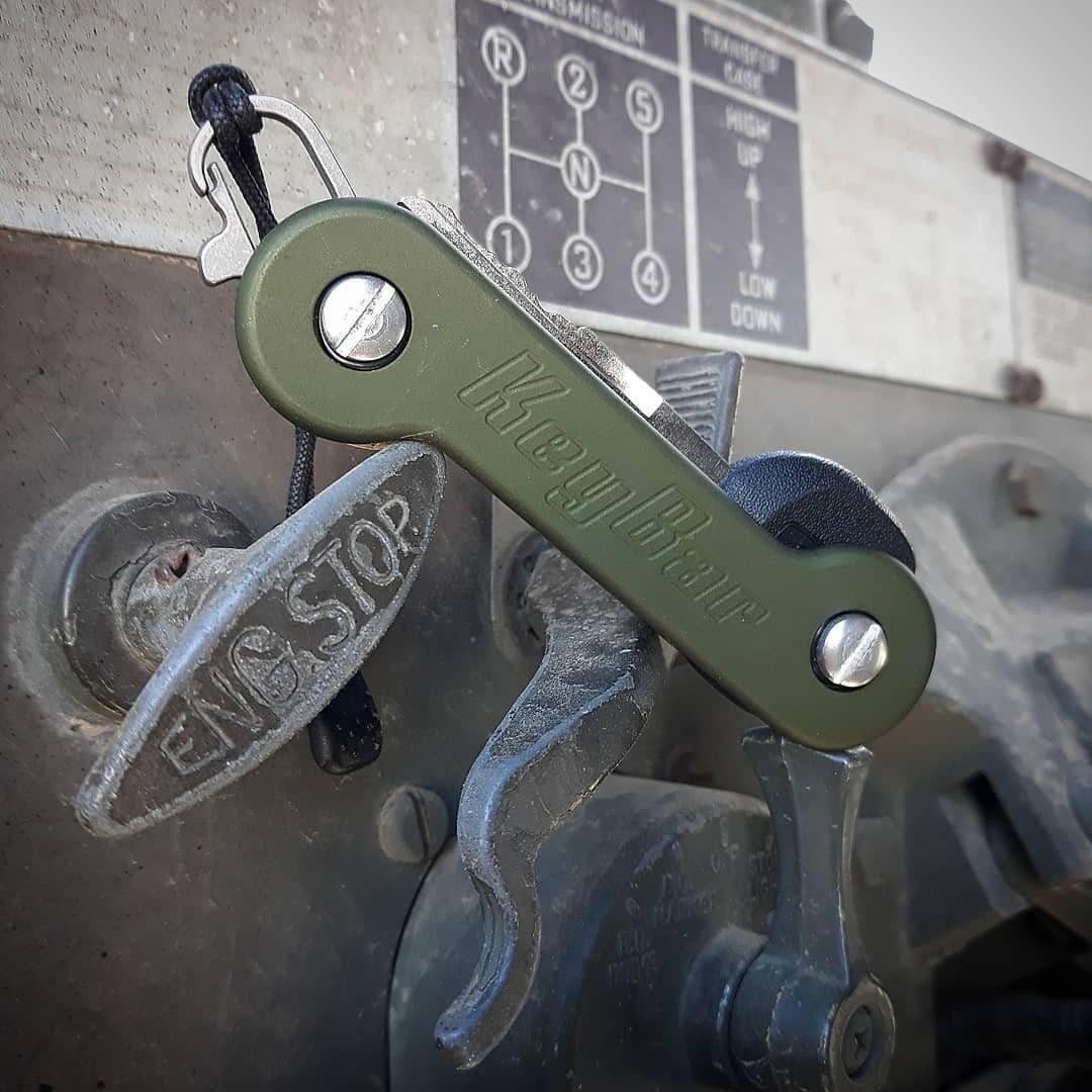 Key Bar Aluminum Green