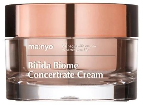Купить Manyo Factory BIFIDA BIOME CONCENTRATE CREAM - Крем - концентрат для лица от морщин с пептидами и витамином Е