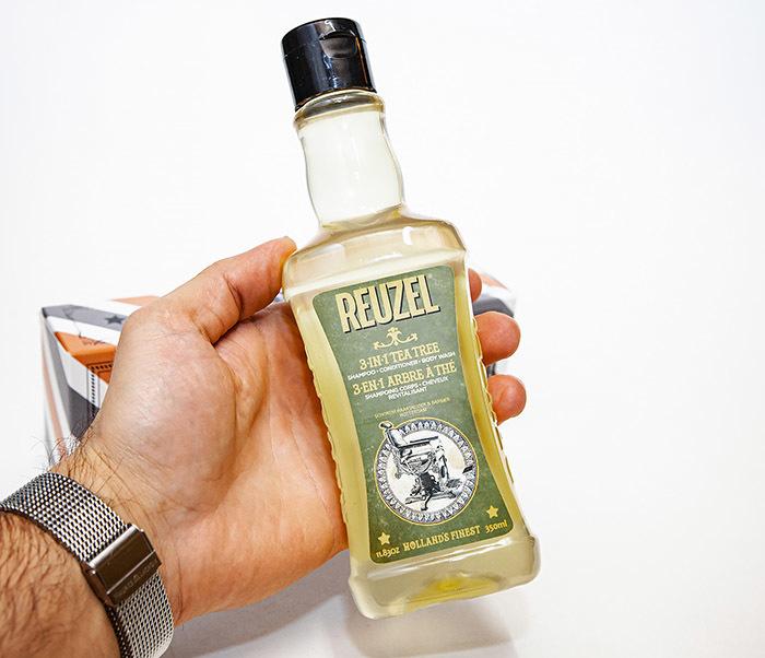 CARE169 Мужской шампунь REUZEL 3 в 1 с маслом чайного дерева (350 мл) фото 07