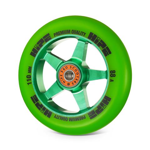 Колесо HIPE H09 110мм green