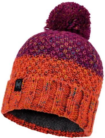 Шапка вязаная с флисом Buff Hat Knitted Polar Janna Fuchsia фото 1