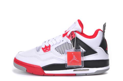 Air Jordan 4 Retro GS 'Fire Red'