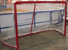 Сетка хоккейная СТАНДАРТНАЯ, d=2.6мм, (пара).