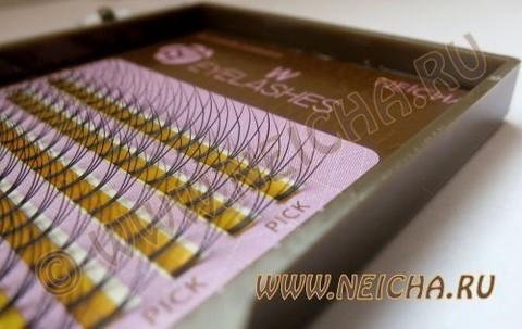 Ресницы NEICHA нейша тройные W-тип MIX 6 линий