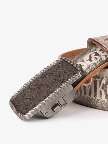 """Belt """"Kamchatka"""" with automatic buckle"""