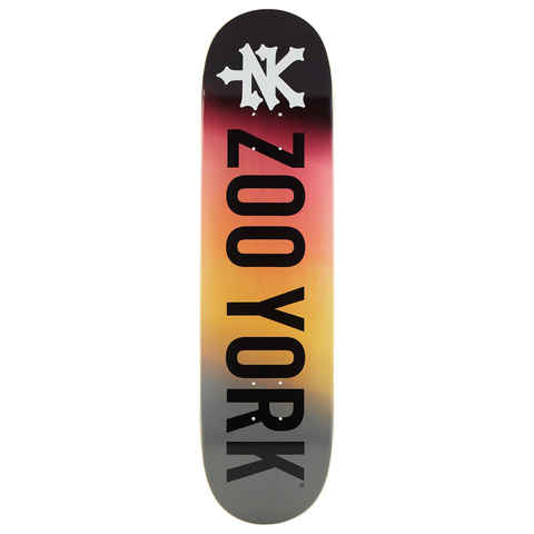 ДЕКА СКЕЙТБОРД ZOO YORK LOGO FIRE 8.25