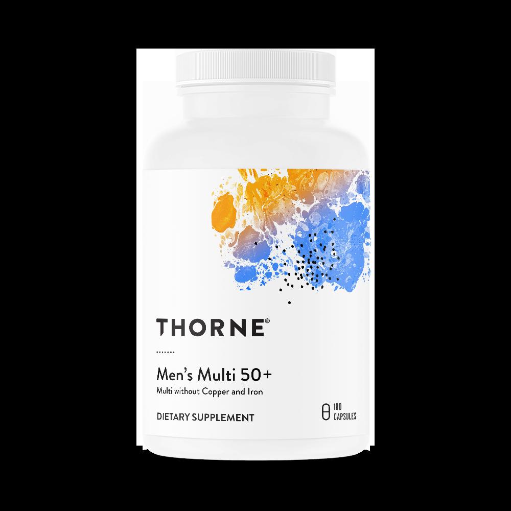 Комплекс витаминов для мужчин 50+, MEN'S MULTI 50+, Thorne Research (180 капсул)