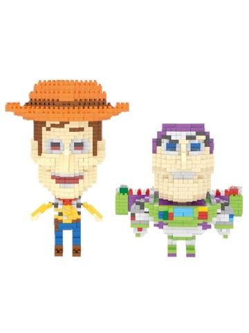 Конструктор Wisehawk & LNO Шериф Вуди и Базз Лайтер 1456 деталей NO. 2456 Woody and Buzz Lightyear