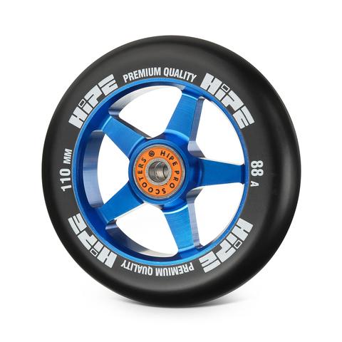 Колесо HIPE H09 110мм blue/black