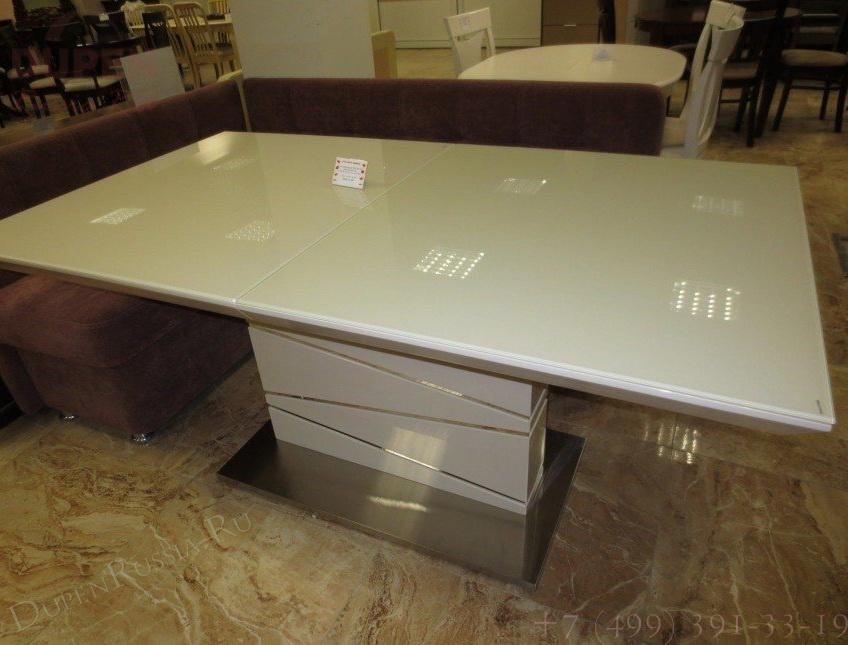 Стол обеденный AVANTI ELEMENT (160) WHITE (белый)