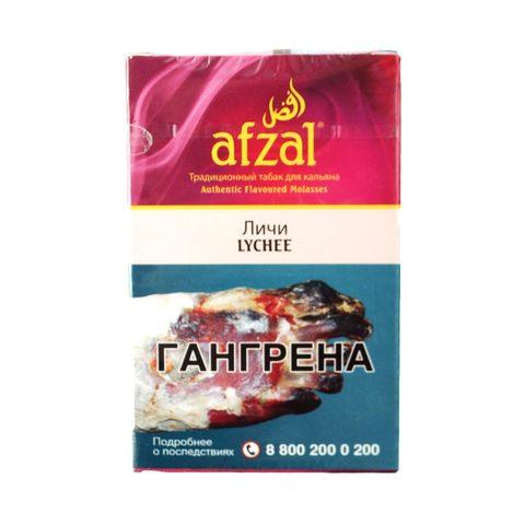 Табак для кальяна Afzal Lychee 50 гр