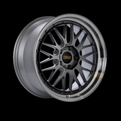 Диск колесный BBS LM 7x17 4x100 ET48 CB70.0 diamond black