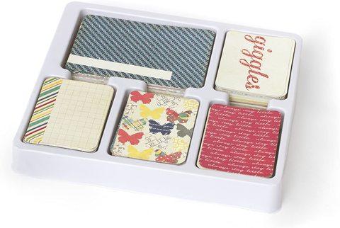 Большой комплект карточек для Project Life - Azure Edition Core Kit - Becky Higgins - 616 шт