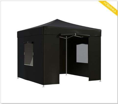 Тент-шатер быстросборный Helex 3x3х3м полиэстер черный