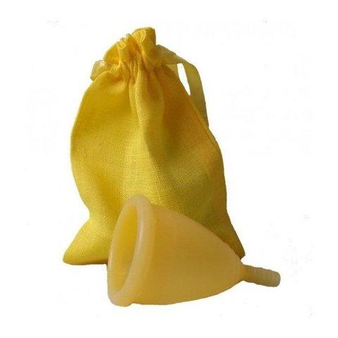Менструальная чаша CupLee L, Желтая