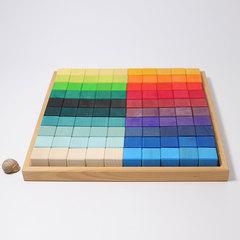 Набор кубиков, 100 шт (Grimms)