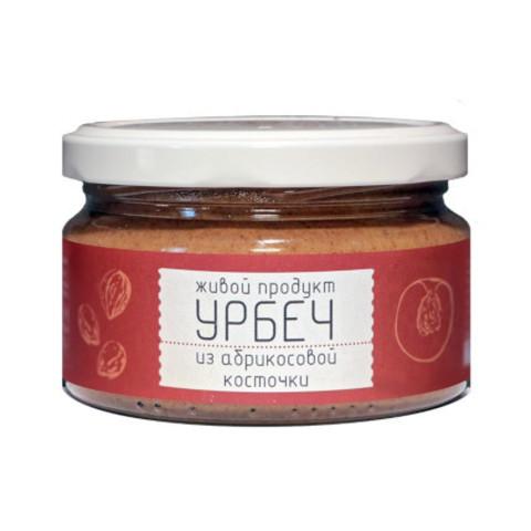 Живой продукт урбеч из ядер  абрикосовых косточек 225гр