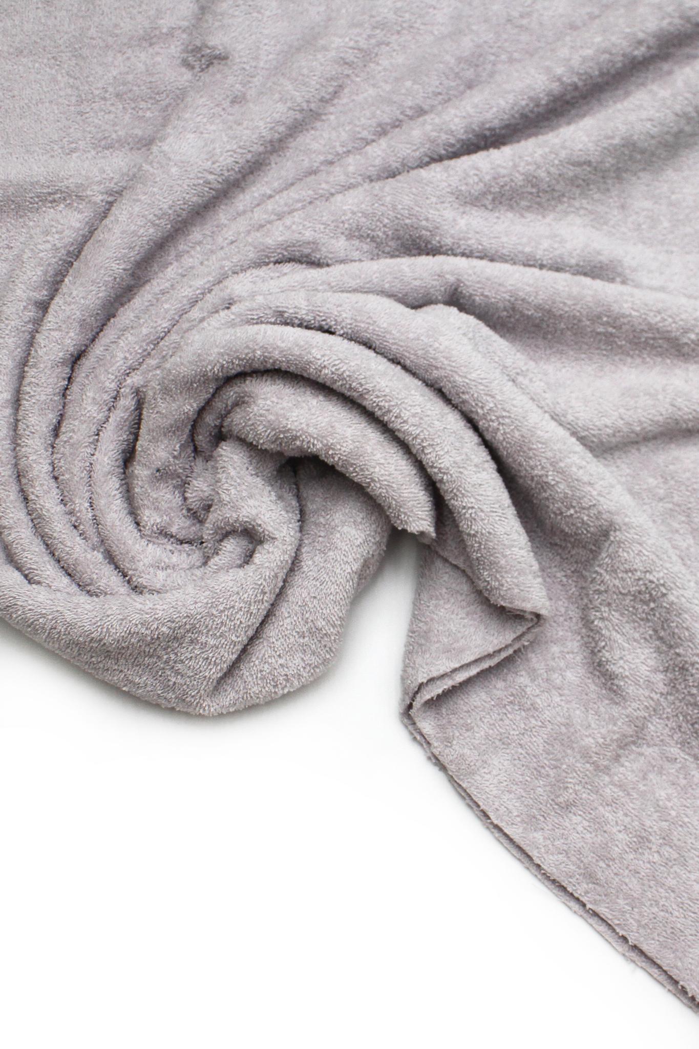 Махровое полотно,французский серый ,160см