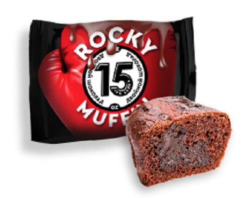 Маффин «Двойной шоколад» низкокалорийный, без сахара