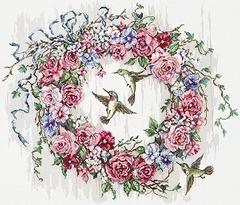 LETISTITCH Hummingbird Wreath (Венок с колибри)