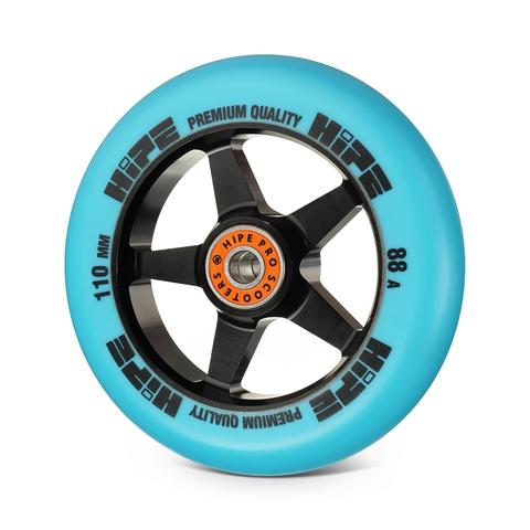 Колесо HIPE H09 110мм black/blue
