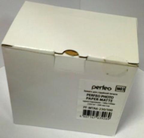 Фотобумага матовая Perfeo 10x15 230 г/м2 500л