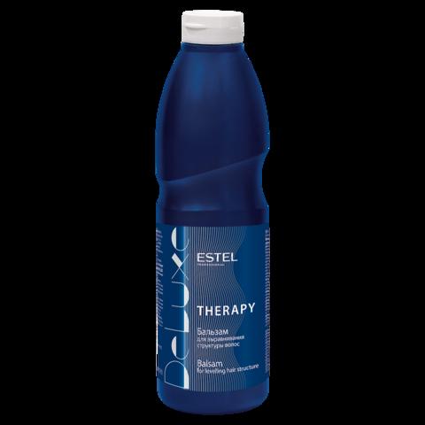 Бальзам для выравнивания структуры волос DE LUXE Therapy, 1000 мл