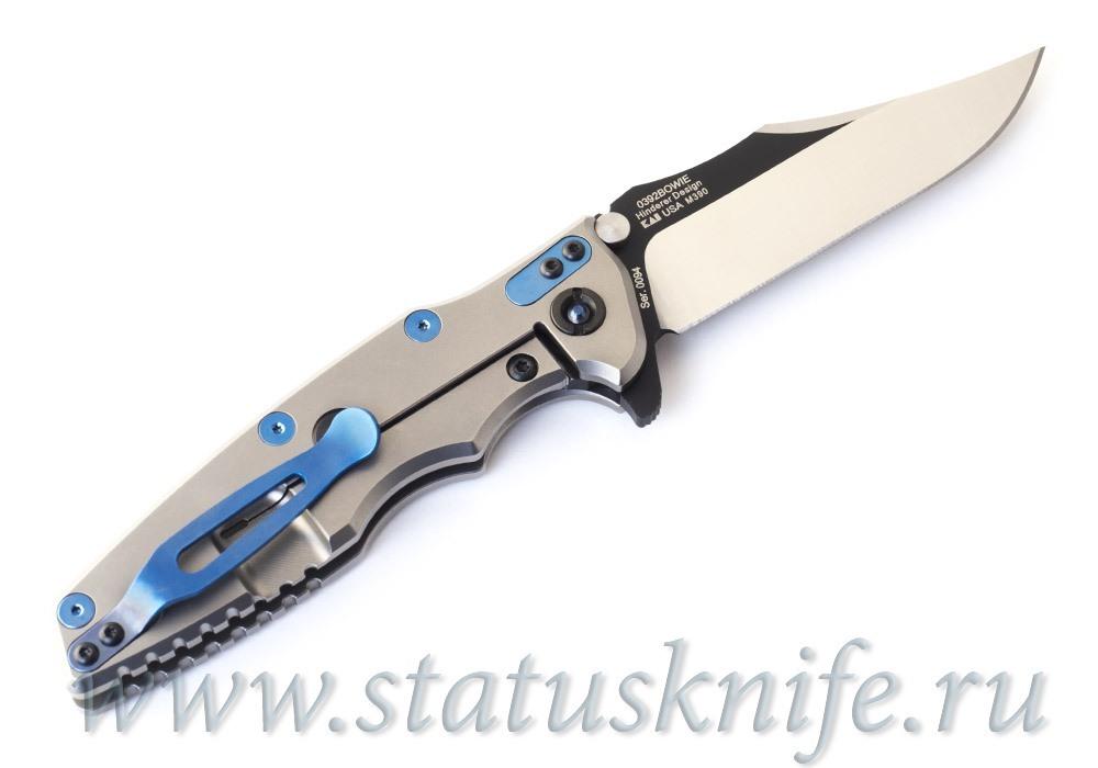 Нож Zero Tolerance 0392BOWIE #0094 Rick Hinderer Limited Edition - фотография