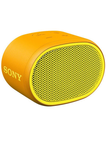Портативная акустика Sony SRS-XB01 (желтый)