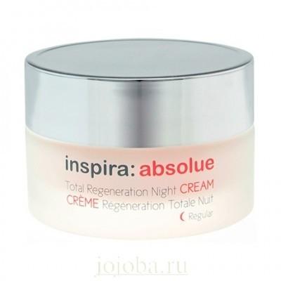 INSPIRA Absolue: Легкий ночной регенерирующий лифтинг-крем для лица (Light Regeneration Night Cream Regular), 50мл