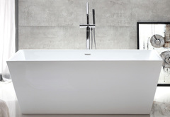 Акриловая ванна ABBER AB9224-1.6 160х80 см отдельностоящая