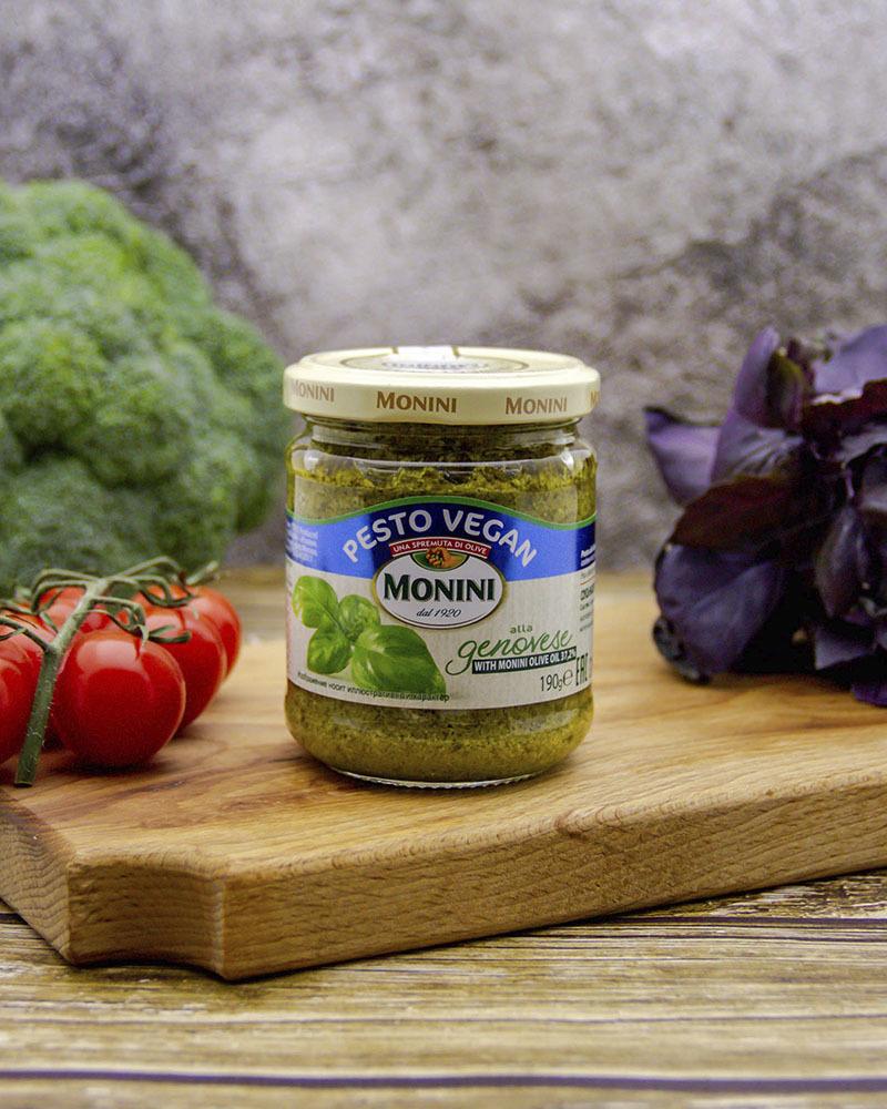 Соус Песто Monini Вегетарианский 190 гр.