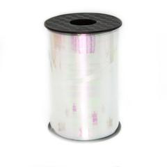 Лента голография Белая, 0,5 см * 500 м