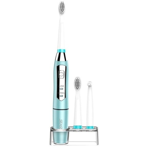 Электрическая зубная щетка Seago 910, 2хААА, синяя