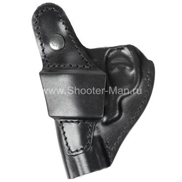 Кобура поясная для револьвера Taurus LOM-13 ( модель № 8 ) Стич Профи