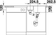 Мойка Blanco Legra 6S схема