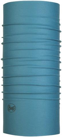 Бандана-труба летняя с защитой от насекомых Buff CoolNet Insect Shield Solid Stone Blue фото 1