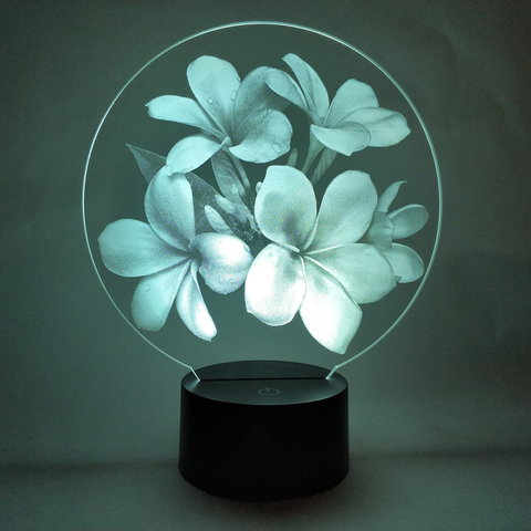 Цветы Франжипани