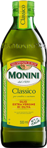Monini Масло оливковое Classico, стеклянная бутылка, 500 мл