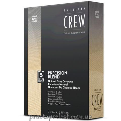 American Crew Precision Blend Light - Система маскування сивини (рівень 7-8)
