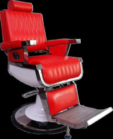 Кресло для барбершопа Томми Red