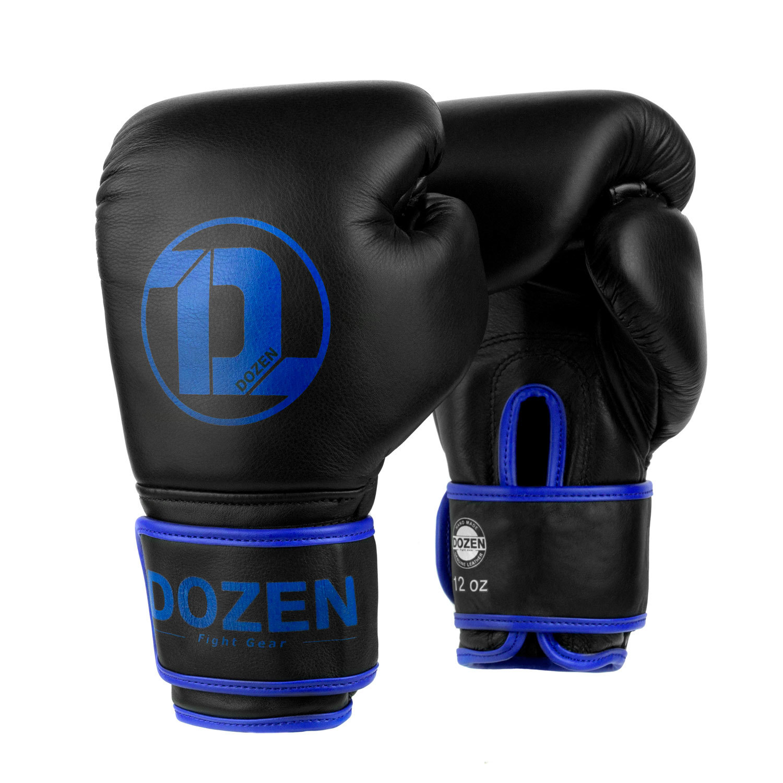 Перчатки Dozen Monochrome Black/Blue главный вид