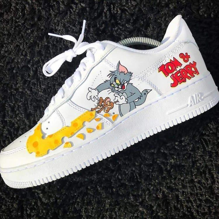 Nike Air Force 1 07 //  Tom & Jerry